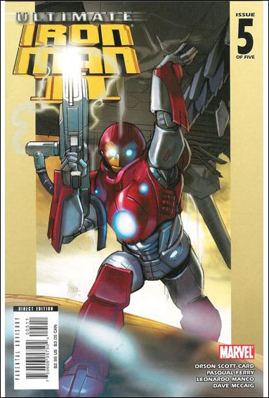 Ultimate Iron Man II 5-A by Marvel