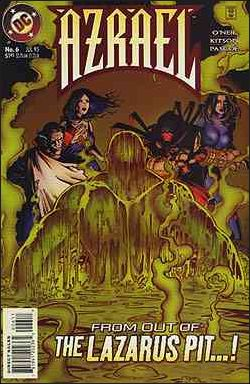 Azrael (1995) 6-A by DC