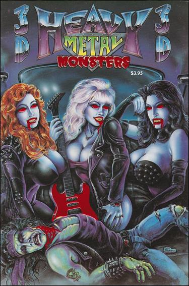 Heavy Metal Monsters (1992) 2-A by Revolutionary