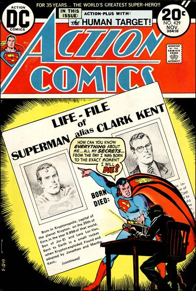 Action Comics (1938) 429-A by DC