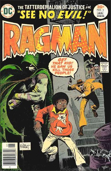 Ragman (1976) 3-A by DC