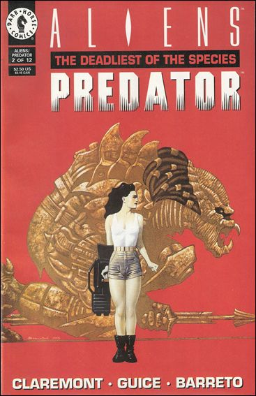 Aliens/Predator: The Deadliest of the Species 2-A by Dark Horse