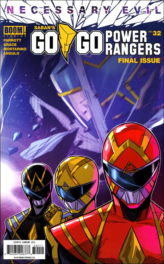 Saban's Go Go Power Rangers 32-A by Boom! Studios