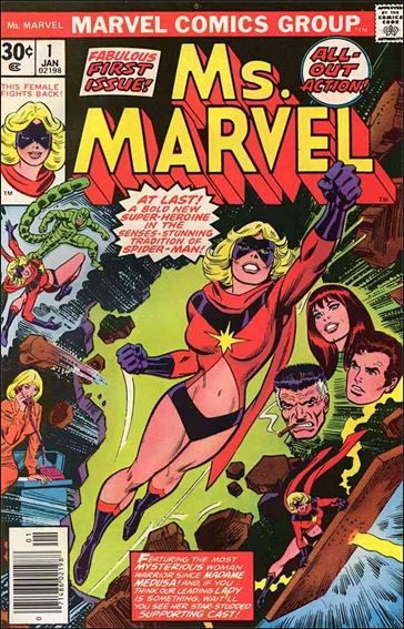 Ms. Marvel (1977) 1-A by Marvel