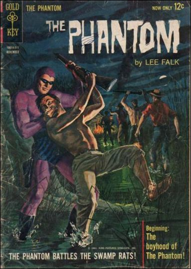 Phantom (1962) 5-A by Gold Key