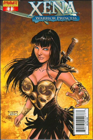Xena (2006) 1-A by Dynamite Entertainment