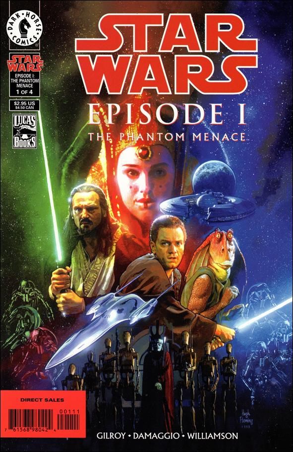 Star Wars: Episode I The Phantom Menace 1-A by Dark Horse