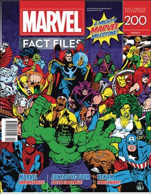 Marvel Fact Files 200-A