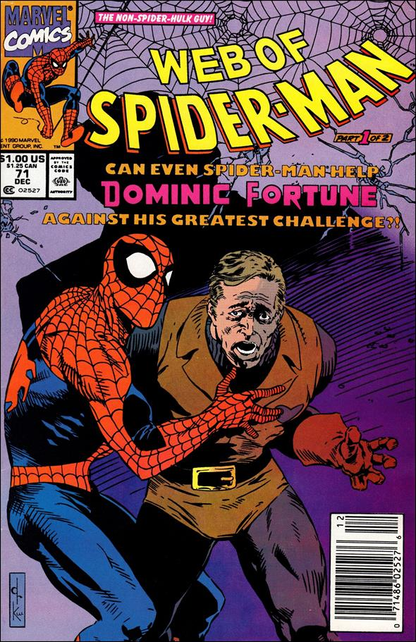 Web of Spider-Man (1985) 71-A by Marvel