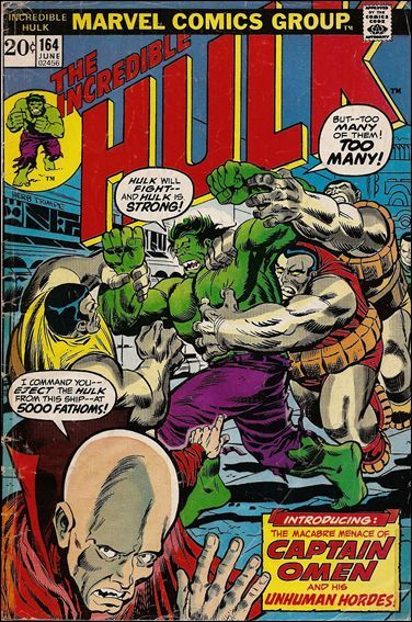 Incredible Hulk (1968) 164-A by Marvel