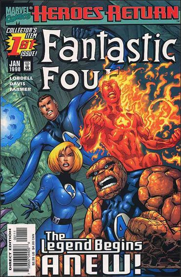 Fantastic Four (1998) 1-A by Marvel