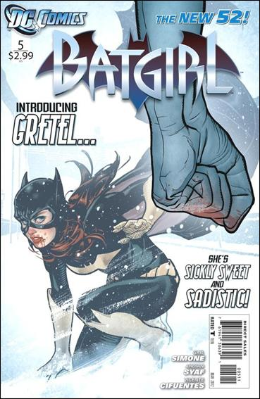 Batgirl (2011) 5-A by DC
