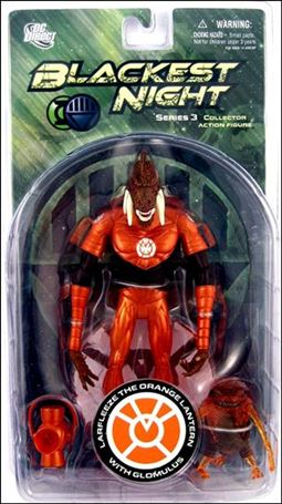 Blackest Night (Series 3) Larfleeze the Orange Lantern with Glomulus