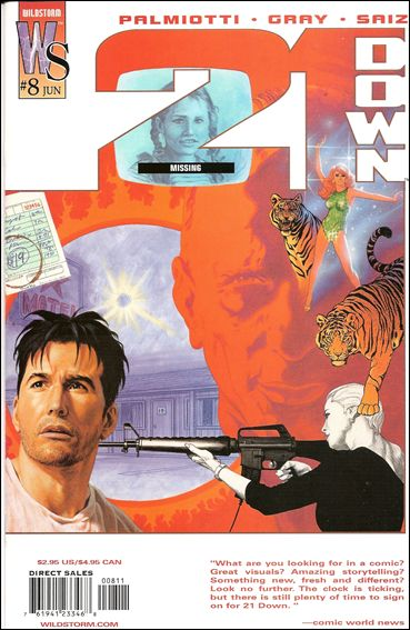 21 Down 8-A by WildStorm