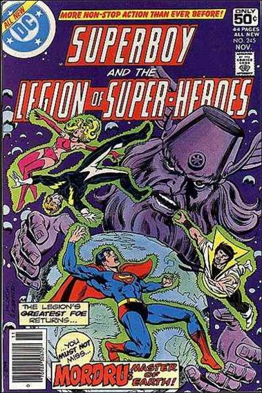 Superboy and the Legion of Super-Heroes 245-A by DC