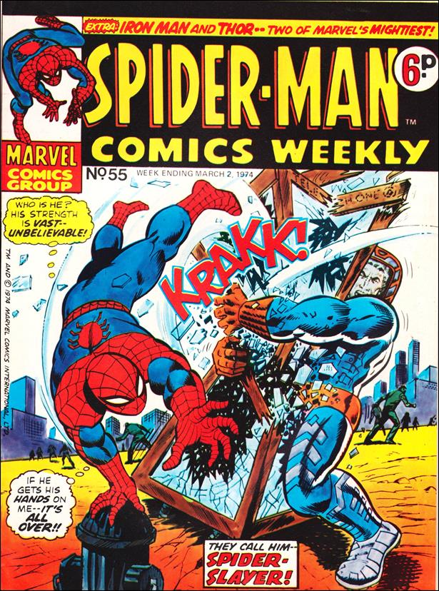 Spider-Man: Comics Weekly (UK) 55-A by Marvel UK