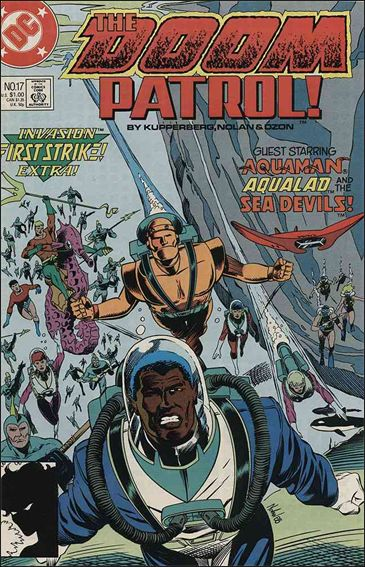 Doom Patrol (1987) 17-A by Vertigo