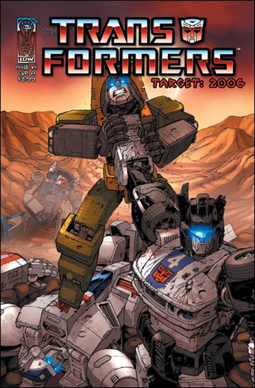 Transformers: Target 2006 4-A by IDW