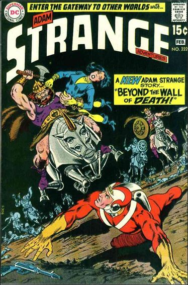 Strange Adventures (1950) 222-A by DC