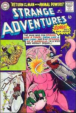 Strange Adventures (1950) 184-A by DC