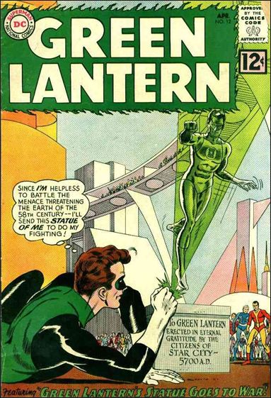 Green Lantern (1960) 12-A by DC