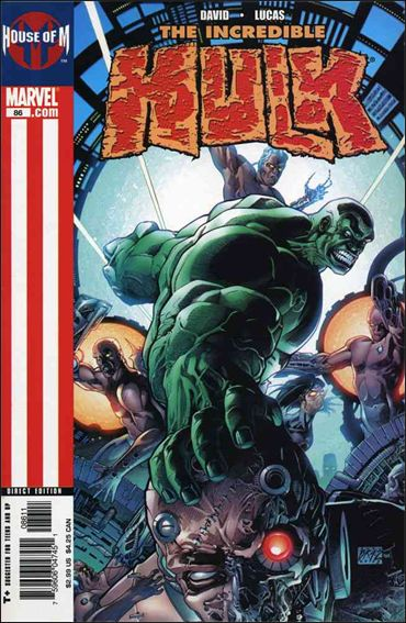 Incredible Hulk (2000)  86-A by Marvel