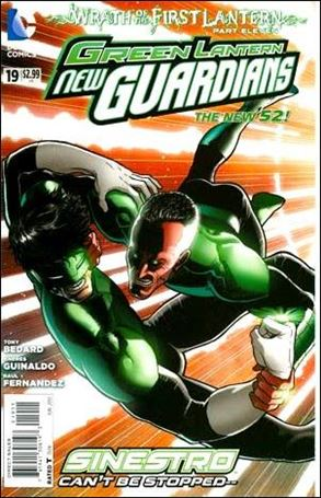 Green Lantern: New Guardians  19-A