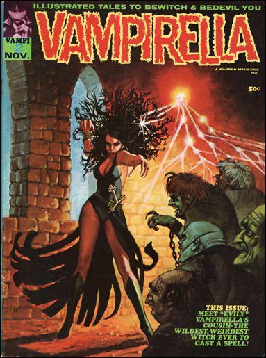 Vampirella 2-A by Warren