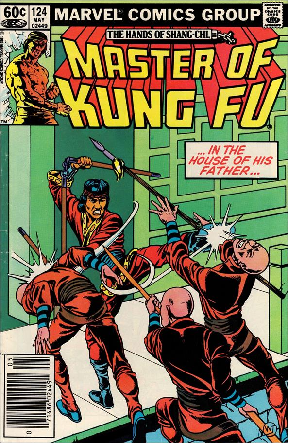 Master of Kung Fu 124-A by Marvel