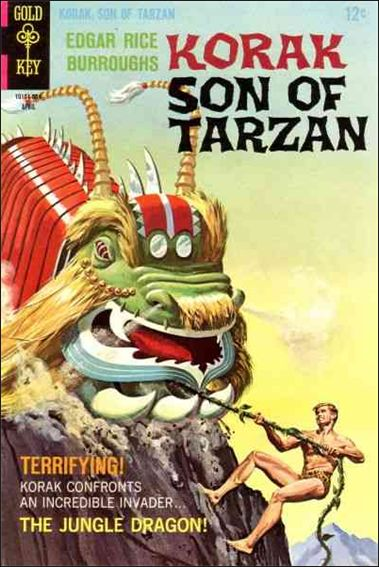 Korak, Son of Tarzan 22-A by DC