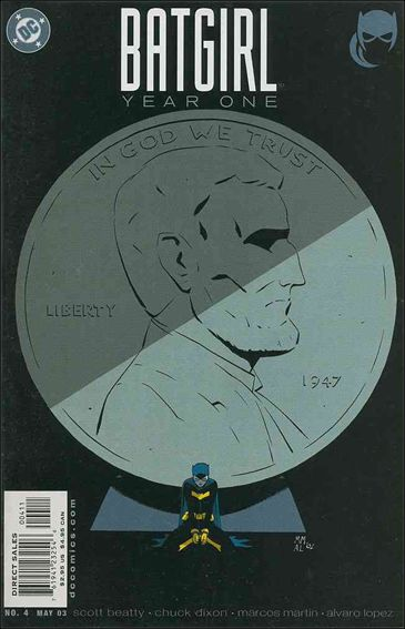 Batgirl Year One 4-A by DC