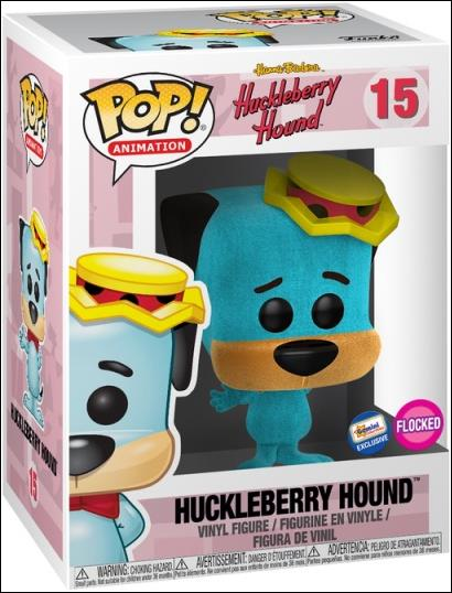 POP! Animation Huckleberry Hound (Flocked) Gemini Exclusive by Funko