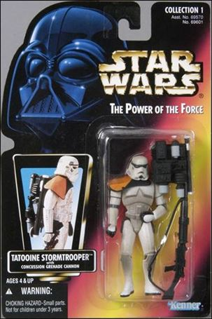 "Star Wars: The Power of the Force 2 3 3/4"" Basic Action Figures Tatooine Stormtrooper"