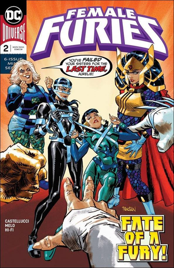 Female Furies 2-A by DC