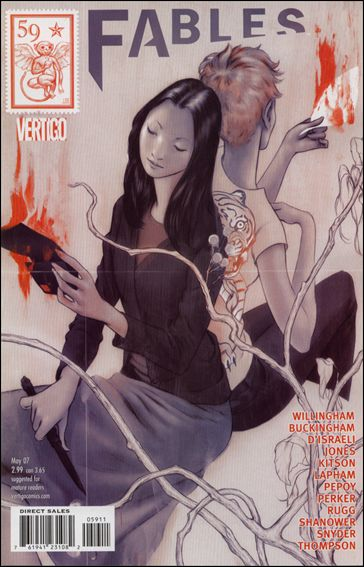 Fables 59-A by Vertigo