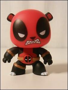 Deadpool Mystery Minis Panda Bear  1/36 by Funko