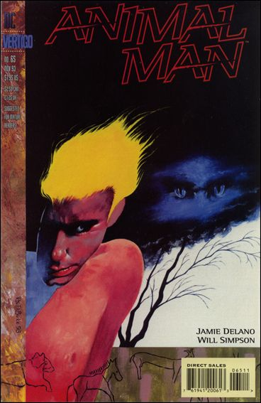 Animal Man (1988) 65-A by Vertigo