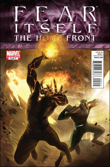 Fear Itself: The Home Front 2-A by Marvel