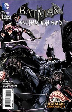 Batman: Arkham Unhinged 14-A