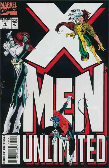 X-Men Unlimited (1993) 4-A by Marvel