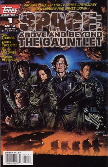 Space: Above and Beyond - The Gauntlet 1-A by Topps