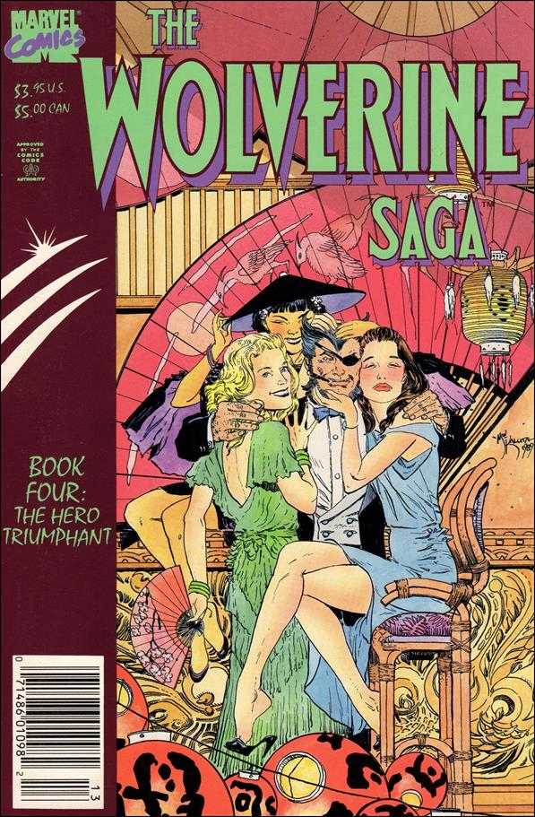 Wolverine Saga (1989) 4-A by Marvel