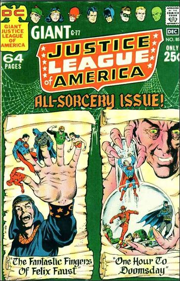 Justice League of America (1960) 85-A by DC
