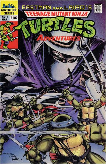 Teenage Mutant Ninja Turtles Adventures (1989) 1-A by Archie