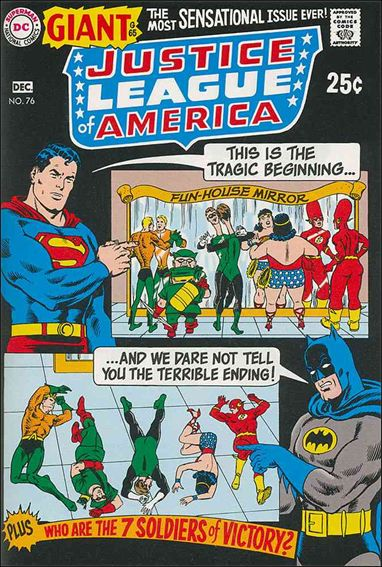 Justice League of America (1960) 76-A by DC