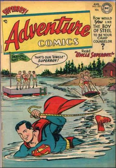 Adventure Comics (1938) 203-A by DC
