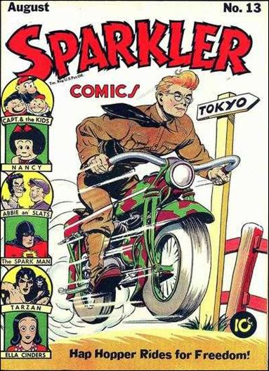 Sparkler Comics (1941) 13-A by United Features Syndicate
