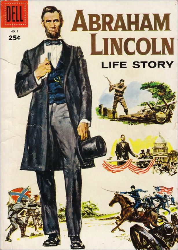 Abraham Lincoln Life Story 1-A by Dell