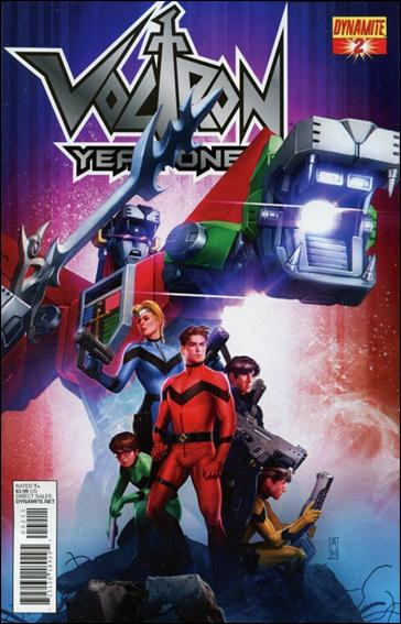Voltron: Year One 2-A by Dynamite Entertainment