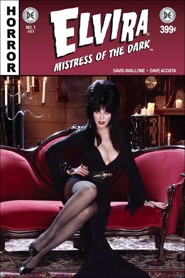 Elvira, Mistress of the Dark (2018) 1-F by Dynamite Entertainment